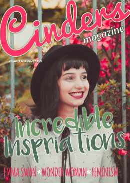 Cinders Magazine Issue Four Cover 1